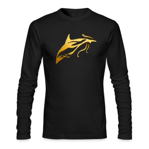 One Golden Dolphin - Men's Long Sleeve T-Shirt by Next Level