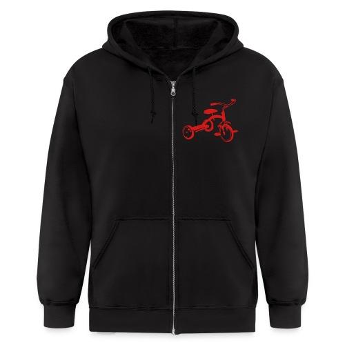 Training Whels Forever! Hoodie - Men's Zip Hoodie
