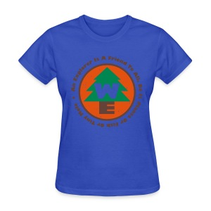 Wilderness Explorers Official Camping Shirt (Womens) - Women's T-Shirt