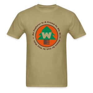 Wilderness Explorers Official Camping Shirt (Mens) - Men's T-Shirt