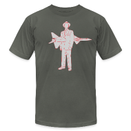 T-Shirts ~ Men's T-Shirt by American Apparel ~ Missile Man