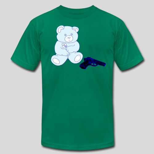 Gun Bear - Men's Fine Jersey T-Shirt
