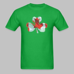 Canadian Shamrock - Men's T-Shirt