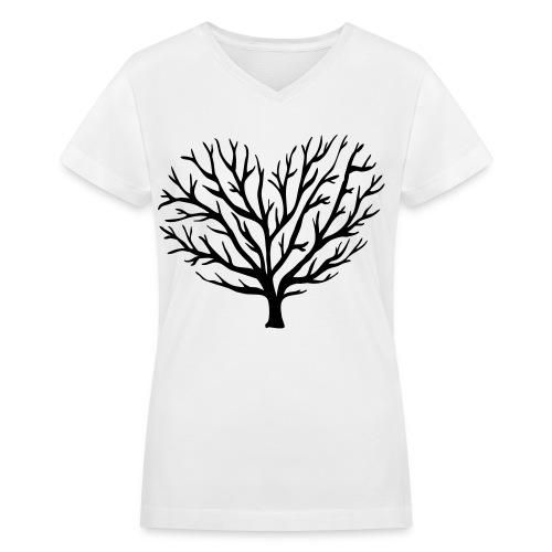 lovelly - Women's V-Neck T-Shirt