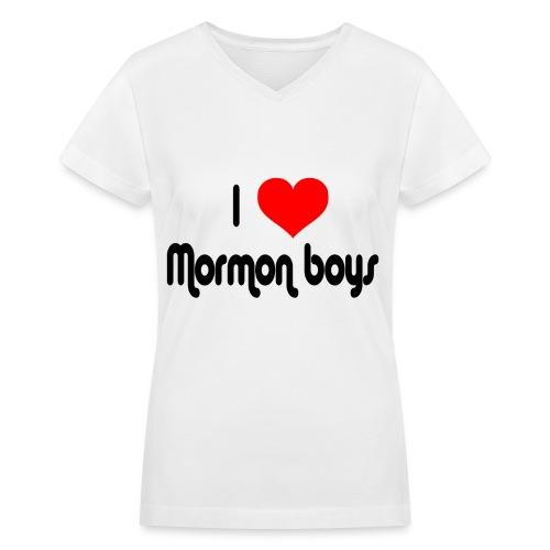 Mormon - Women's V-Neck T-Shirt