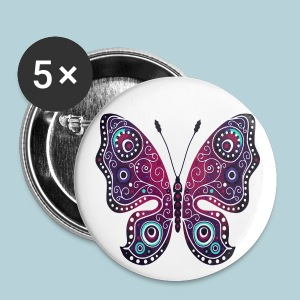 Small Buttons - Beautiful butterfly design