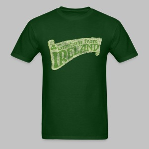 Old Greetings From Ireland - Men's T-Shirt