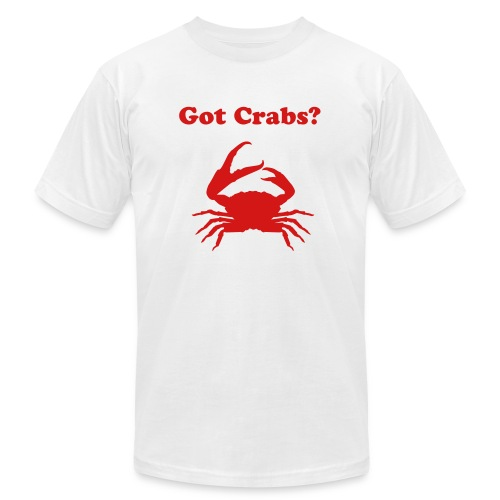 Got Crabs? (Men's American Apparel Tee) - Men's  Jersey T-Shirt