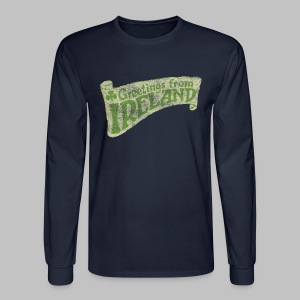 Old Greetings From Ireland - Men's Long Sleeve T-Shirt
