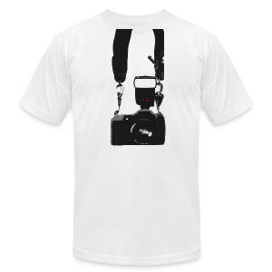 Camera Guy Tee ALL COLORS - Men's T-Shirt by American Apparel