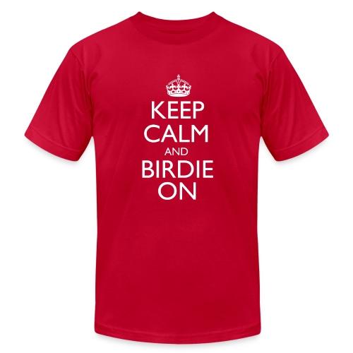 Keep Calm & Birdie On - Men's Fine Jersey T-Shirt