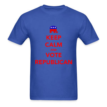 Keep Calm and Vote Republican 2012 Election T-Shirts