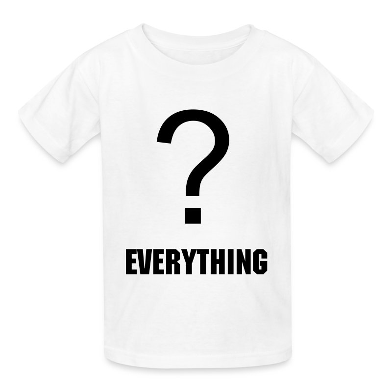 question everything - Kids' T-Shirt