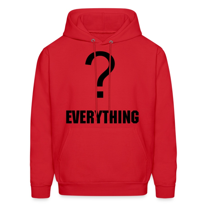 question everything - Men's Hoodie