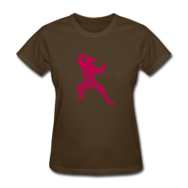 Karate tribal T-shirt
