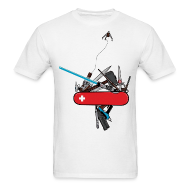 T-Shirts ~ Men's T-Shirt ~ swiss army geek