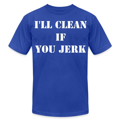 Clean & Jerk - Men's Fine Jersey T-Shirt