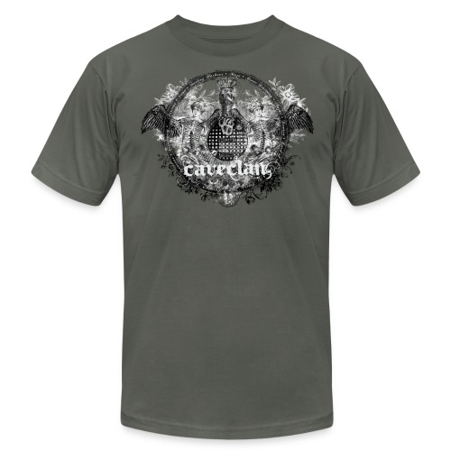 Anatomy of the Cave Clan- men's grey shirt - Men's Fine Jersey T-Shirt