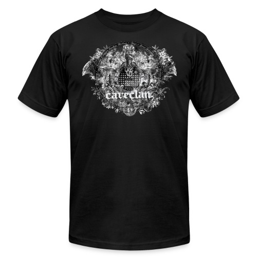Anatomy of the Cave Clan- men's black shirt - Men's Fine Jersey T-Shirt