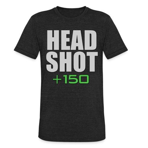 BOOM! Headshot - Unisex Tri-Blend T-Shirt