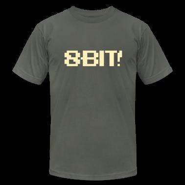 8-Bit Font (flat) 1c T-Shirts