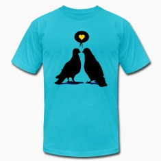Love saying Doves - Two Valentine Birds 3c T-Shirts