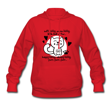 soft kitty, warm kitty, little ball of fur... Hoodies