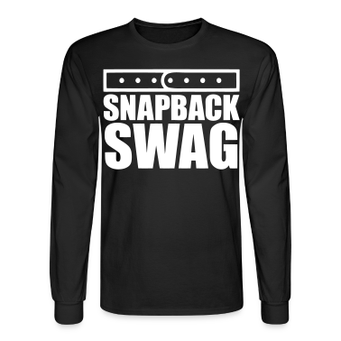 Snapback Swag Long Sleeve Shirts - stayflyclothing.com