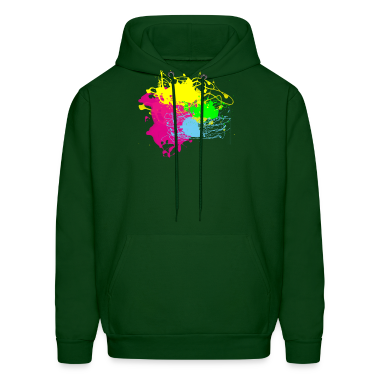 Paint Splatter - Graffiti Graphic Design - Multicolor