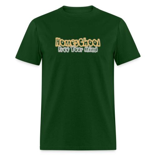 Homeschool Free Your Mind - Men's T-Shirt