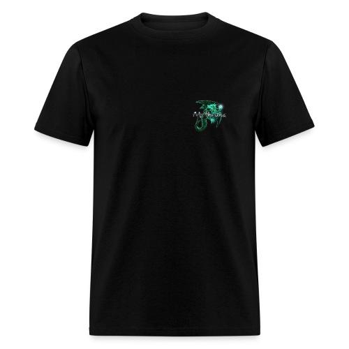 Mythruna World Back (blue text) Std Weight - Men's - Men's T-Shirt