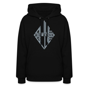 [BB] ALIVE | BLUE (Metallic Silver) - Women's Hoodie