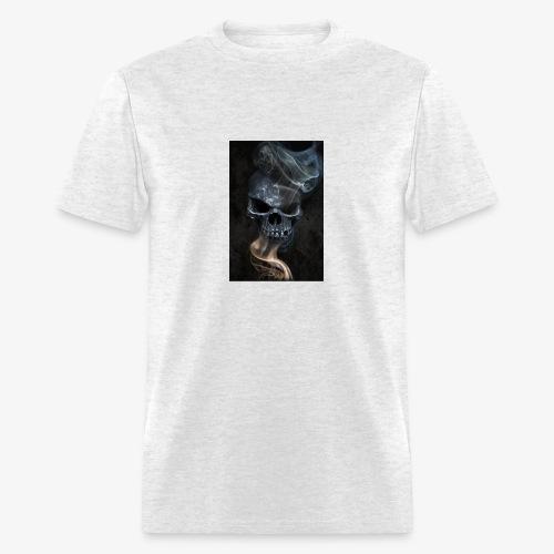 Smokin Skull - Men's T-Shirt