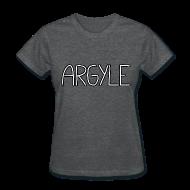 Women's T-Shirts ~ Women's T-Shirt ~ ARGYLE shirt