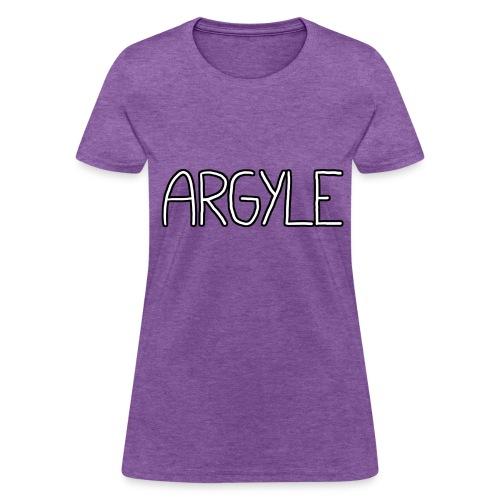 ARGYLE shirt - Women's T-Shirt