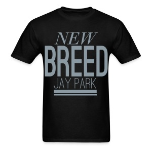 [JP] New Breed (Metallic Silver) - Men's T-Shirt