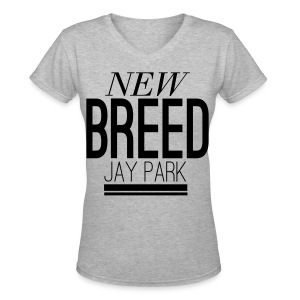 [JP] New Breed - Women's V-Neck T-Shirt