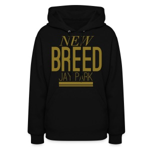[JP] New Breed (Metallic Gold) - Women's Hoodie