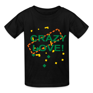 crazy love - Kids' T-Shirt