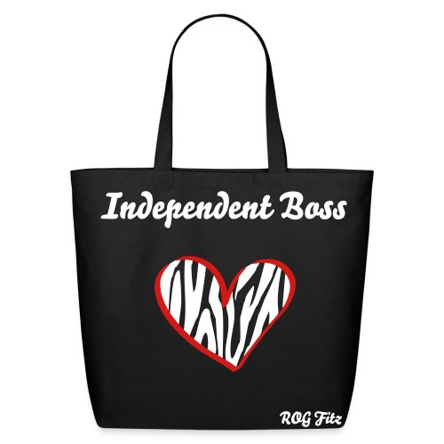 Independent Boss Handbag - Eco-Friendly Cotton Tote