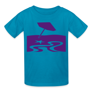 Summer beach time  - Kids' T-Shirt