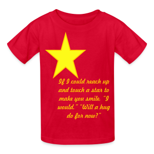 If I could reach up .... - Kids' T-Shirt