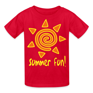 Summer fun. - Kids' T-Shirt