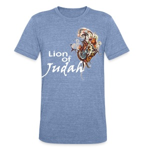 lion_of_judah T-Shirts - Unisex Tri-Blend T-Shirt by American Apparel