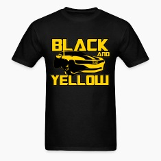 Black And Yellow Bumblebee T-Shirts