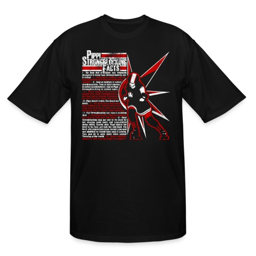 Pippi Strongblocking - Men's Tall T-Shirt