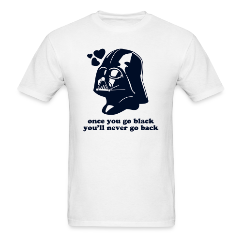 Darth Vader Star Wars Go Black