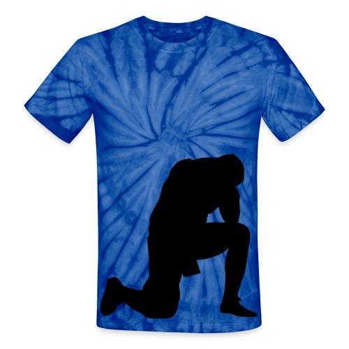 WF043-1 - Unisex Tie Dye T-Shirt