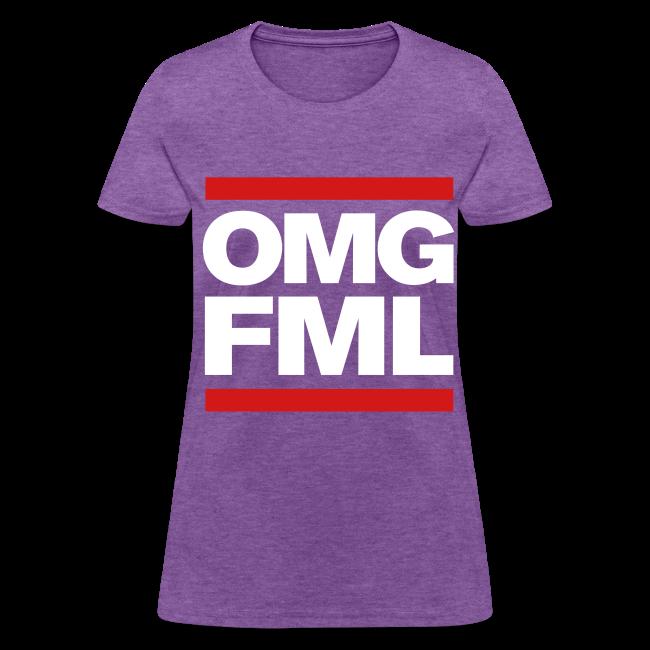 OMG FML girl's Tshirt