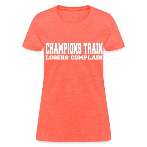 Champions Train - Women's T-Shirt